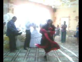 Цыганка Аза на свадьбе!